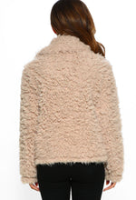 Teddy Bear Jacket - Back View