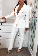 White Womens Suit