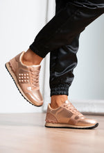 Rose Gold Trainers