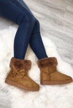 Tan Fur Lined Ugg Boots