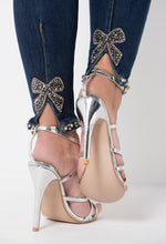 Diamante Bow Detail Jeans