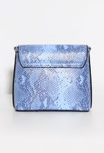 Blue Snake Mini Bag