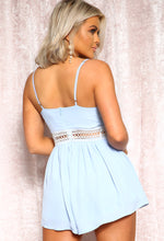Blue Summer Playsuit