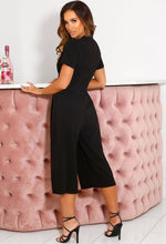 Black Going Out Jumpsuit