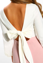 Bow Detail Jumpsuit - Detail View