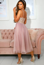 Pink Tulle Skirt Dress