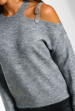 Grey Buckle Jumper