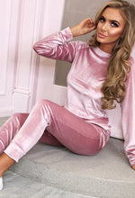 Sassy Since Birth Pink Velvet Lounge Set
