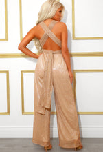 Metallic Multiway Party Jumpsuit