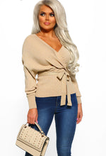 Stone Wrap Lurex Jumper