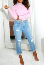 Pink Diamante Jumper