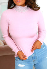 Pink Embellished Jumper