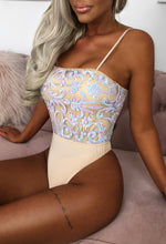 Sequin Thong Bodysuit