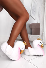 White Swan Slippers