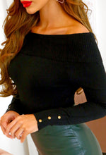 Off Shoulder Bardot Jumper