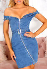 Bardot Denim Mini Dress