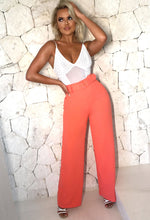 Coral High Waisted Trousers