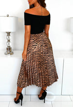 Animal Print Bardot Dress