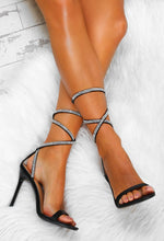 Diamante Strap Stiletto Heels