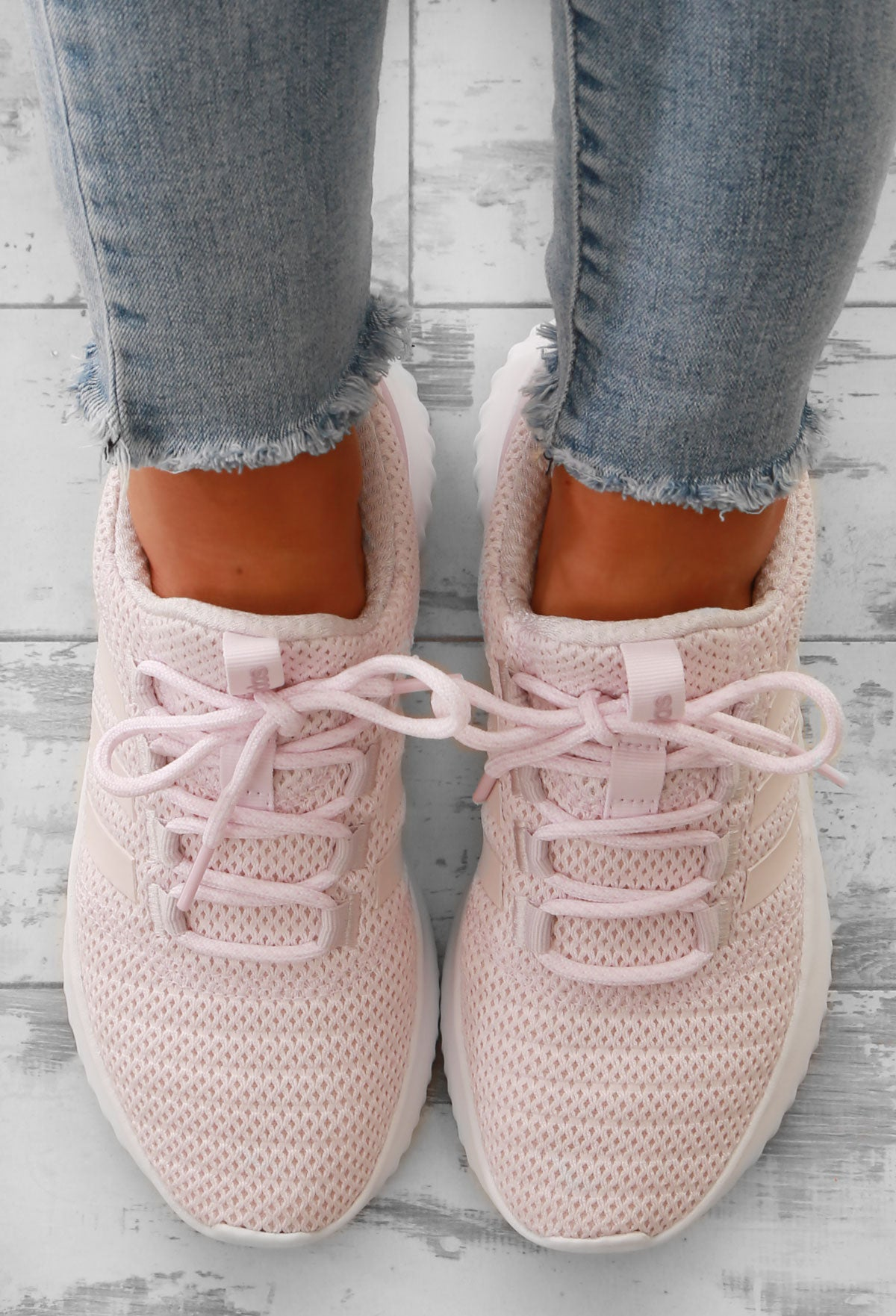 6cc17431e00 Adidas Pink Cloudfoam Ultimate Trainers – Pink Boutique UK