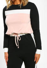 Pink and Black Casual Co-Ord - Detail View