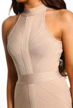 Another Classic Nude Bandage Midi Dress
