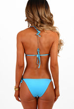 Beach Beauty Turquoise Chain Detail Bikini