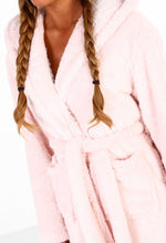 Bunny Babe Pink Rabbit Fleece Robe