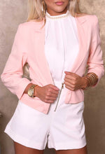 Carla White Blouse with Pearls