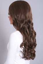 Extreme Volume Chestnut Brown #8 Curly Weft Hair Extensions