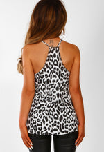 Leopard Print Cami Top - Back View