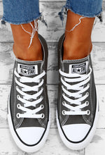 Chuck Taylor Converse All Star Charcoal Trainers