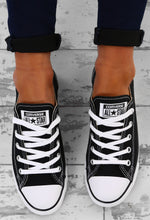 Chuck Taylor Converse All Star Dainty Ox Black Trainers