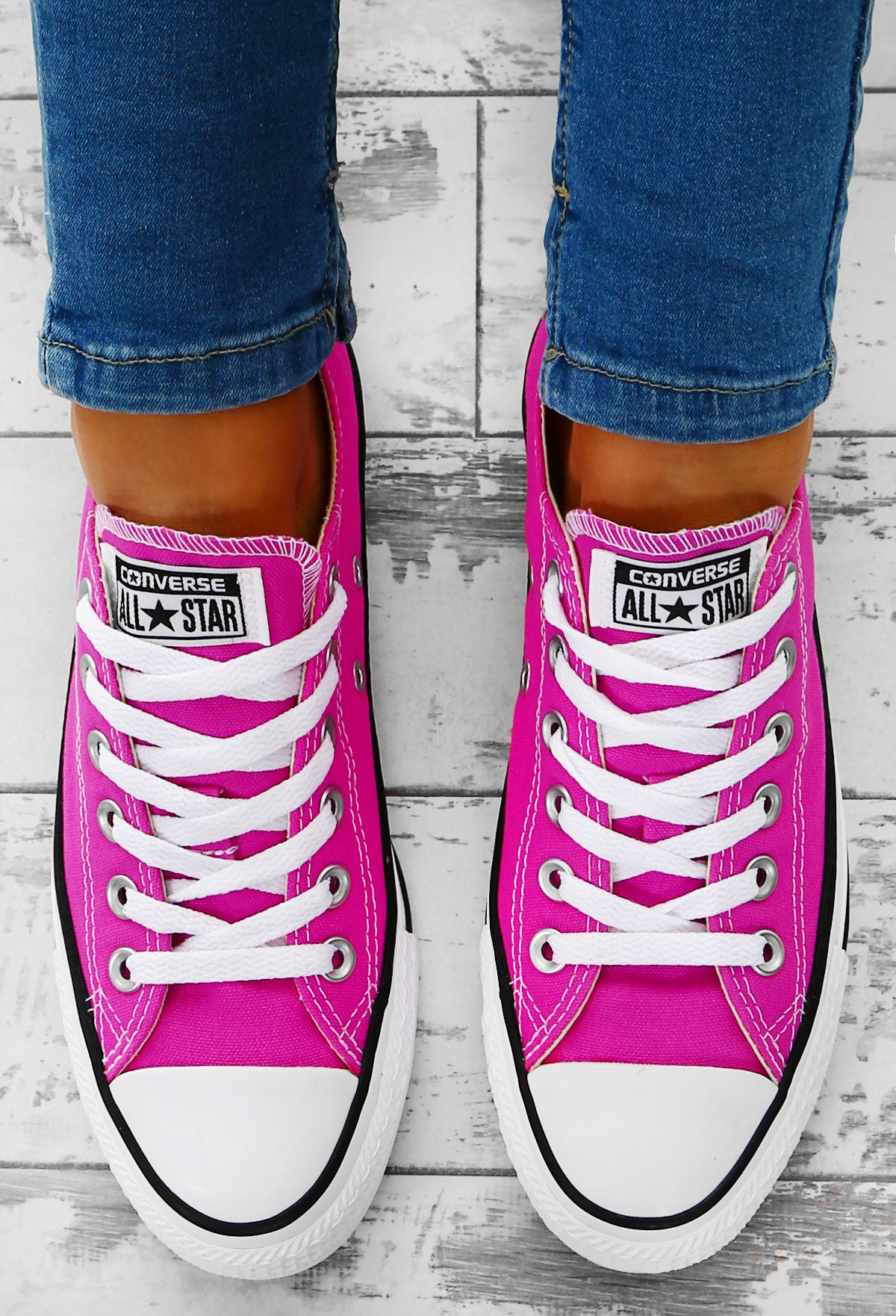 234f8307f4d Chuck Taylor Converse All Star Fuchsia Trainers – Pink Boutique UK