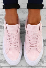 Converse One Star Pink Suede Trainers