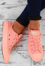Chuck Taylor Converse All Star Ox Coral Trainers