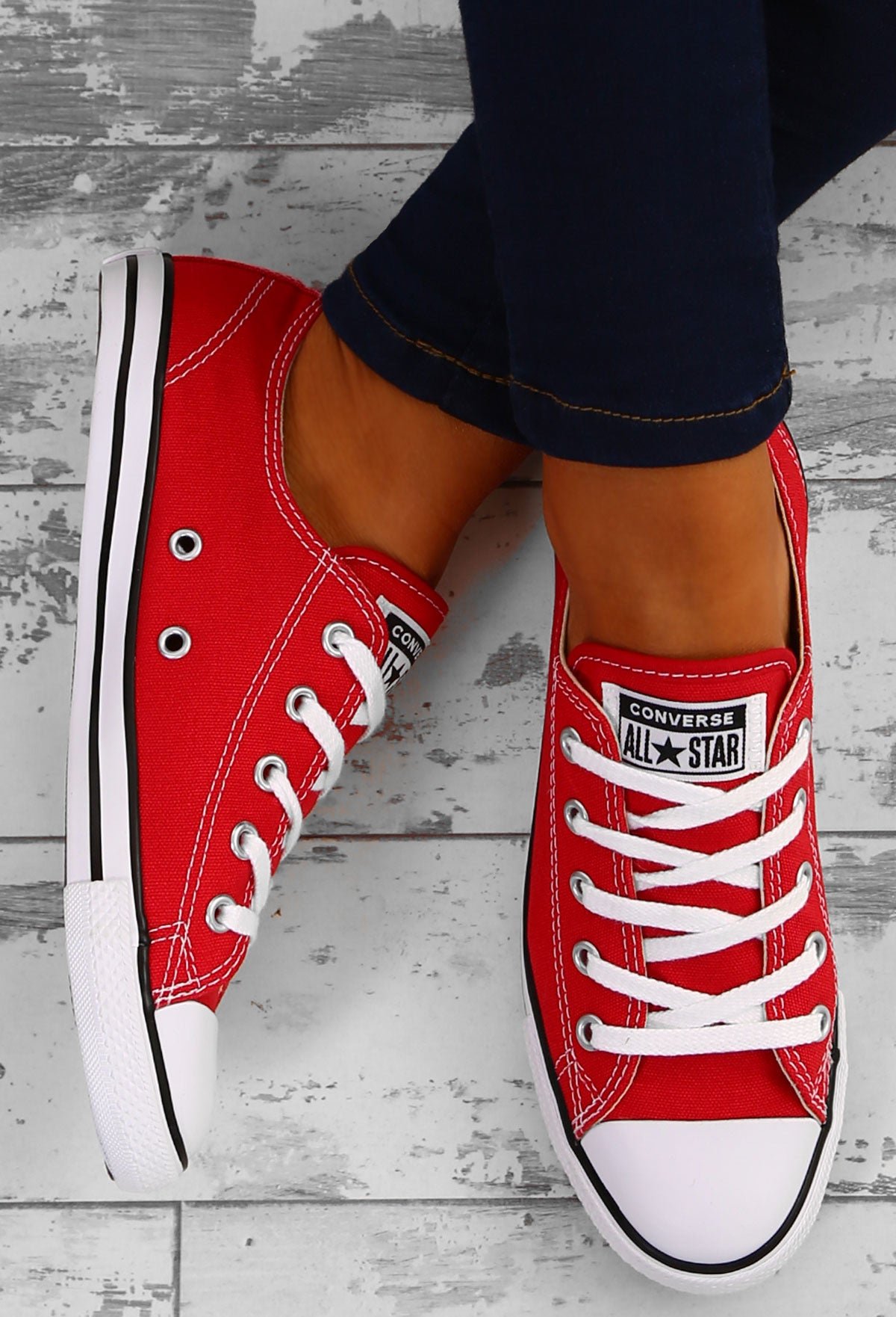 473310d1764f Chuck taylor converse all star dainty ox varsity red trainers pink jpg  1200x1762 Red prom dresses