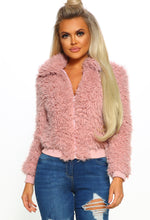 Cuddle Me Pink Teddy Bear Bomber Jacket