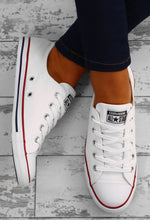 Chuck Taylor Converse All Star Dainty Ox White Trainers