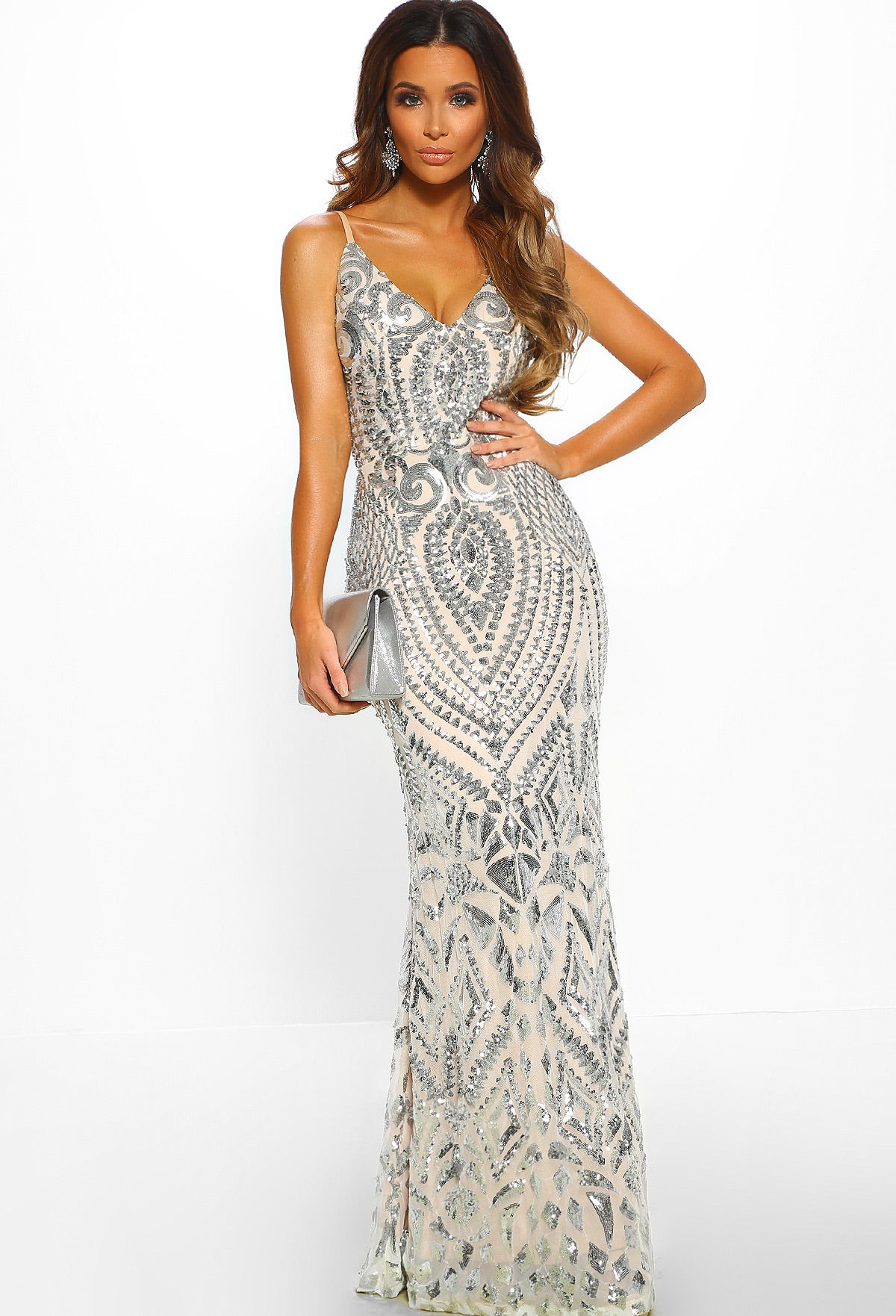 0eb97722 Diamond Nights Silver Limited Edition Sequin Backless Dress – Pink ...