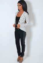 Spotty Dotty Black and White Polka Dot Jacket