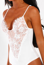 Forever Flawless White Lace Bodysuit