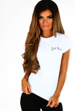 Girl Boss White Slogan T-Shirt