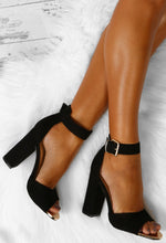 Gracen Black Block Heels