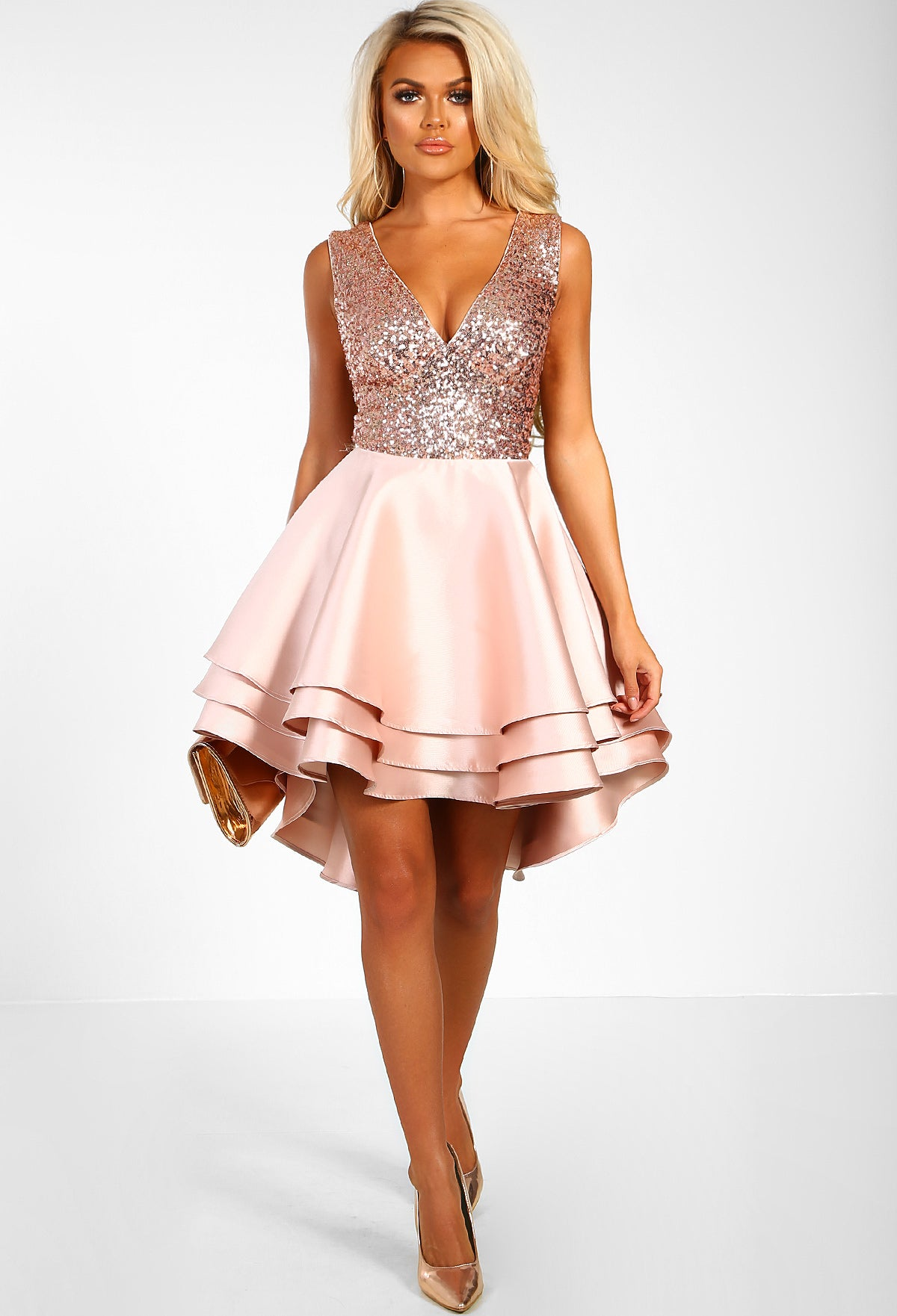 pink boutique dresses