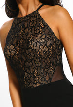Black Bodycon Lace Dress