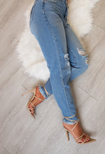 womens denim ripped jean