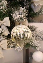 Large Glass Bauble LED Ornament