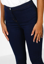 Lights Out Indigo High Waisted Skinny Jeggings