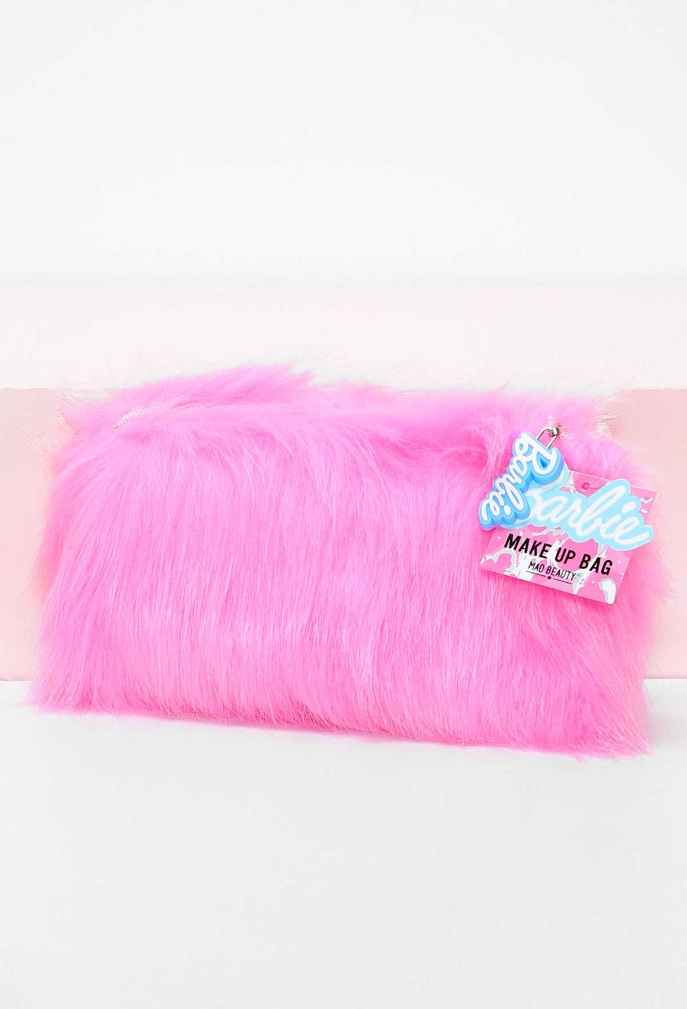 Barbie Pink Fluffy Makeup Bag